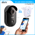 Wireless gate intercom video door phone with indoor chime HD 720p wireless door bell
