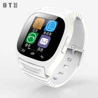 Smartwatch for android phone with camera Anti-lost support SIM card MP3 M26 smart watch