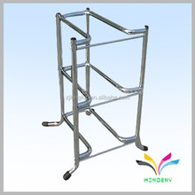 China manufacturer good quality hot selling storage rack unique modern metal cheap floor standing decorative corner shelf