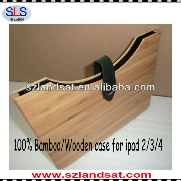 Hot factory direct sales 100% real wooden covers for ipad3 IBC06