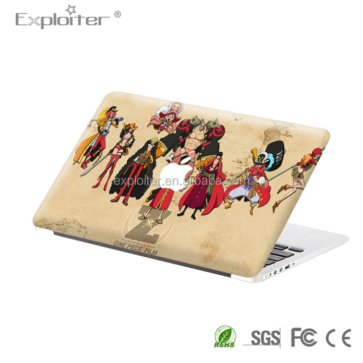 Self-adhesive decoration computer skin for mac book pro 17inch sticker