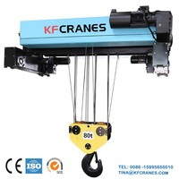 High Efficiency Wire Rope Electric Hoist 50ton Used For EOT Cranes