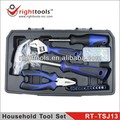 RIGHT TOOLS NEW SET RT-TSJ13 17 PCS HOUSEHOLD TOOL SET