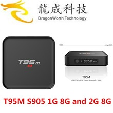 2016 T95M Android 5.1 TV Box WiFi with Air Mouse Keyboard Support youtube Kodi 16.0 internet tv set top box in stock