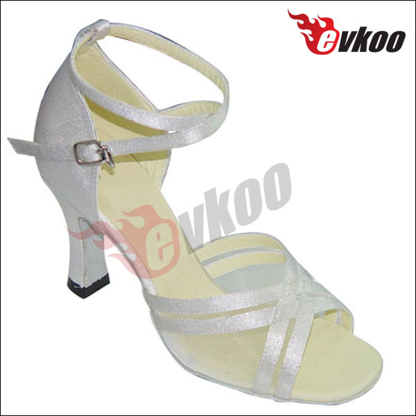 betty dance shoes Momen's latin dance shoes white salsa shoes
