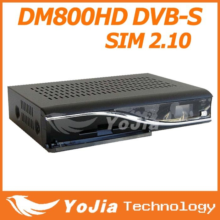 Satellite TV Recever DM800 hd With Sim 2.10 M Tuner Dreambox