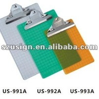 US 991A Office Plastic Clipboard A4