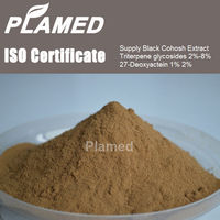 Super natural black cohosh extract powder supplier,100% pure natural black cohosh extract powder
