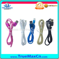 2017 hot selling Quick Charging Nylon magnetic usb data cable for smartphone micro type C