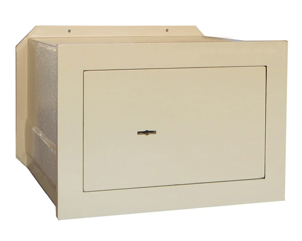 Jewelry boxes Wall mounted hidden safe box with double bitted key lock WS-2030