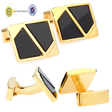 wholesale quality promotional American custom man's brass Cuff Link