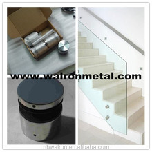 Stainless steel standoff 316L glass standoff 48(Dia)*30 with Mirror finished for balustrade,stair,fencing