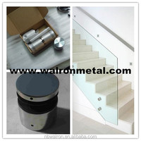 Stainless steel standoff 316L glass standoff 50(Dia)*30 with Mirror finished for balustrade,stair,fencing