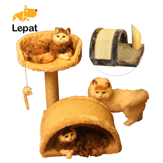 Supply Quality Wholesale Fashion Design cat trees for large cats