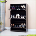Foshan factory Goodlife furniture Wholesale wooden shoe cabinet with mirror