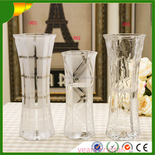Top Hot Selling Best Price Crystal Glass Vase For Wedding Centerpieces