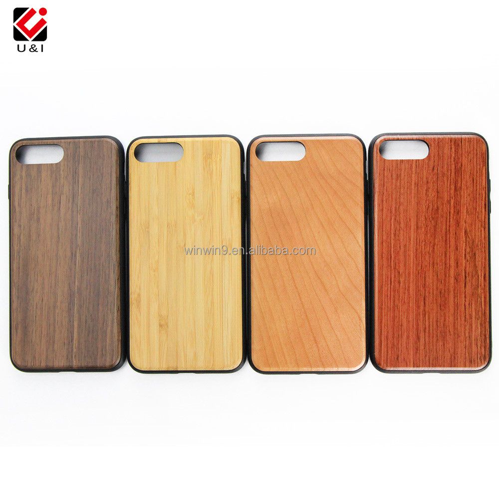 Rosewood wood smart phone case for iphone,wooden cell phone cover for iphone 7,mobile phone accessories