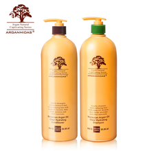 Natural argan oil sulfate free black hair dye shampoo conditioner