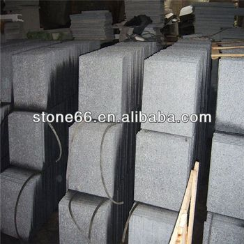 G654 Flamed Tiles for sale