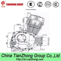 New CG250cc Manual/Automatic Transmission Type Motorcycle Engines