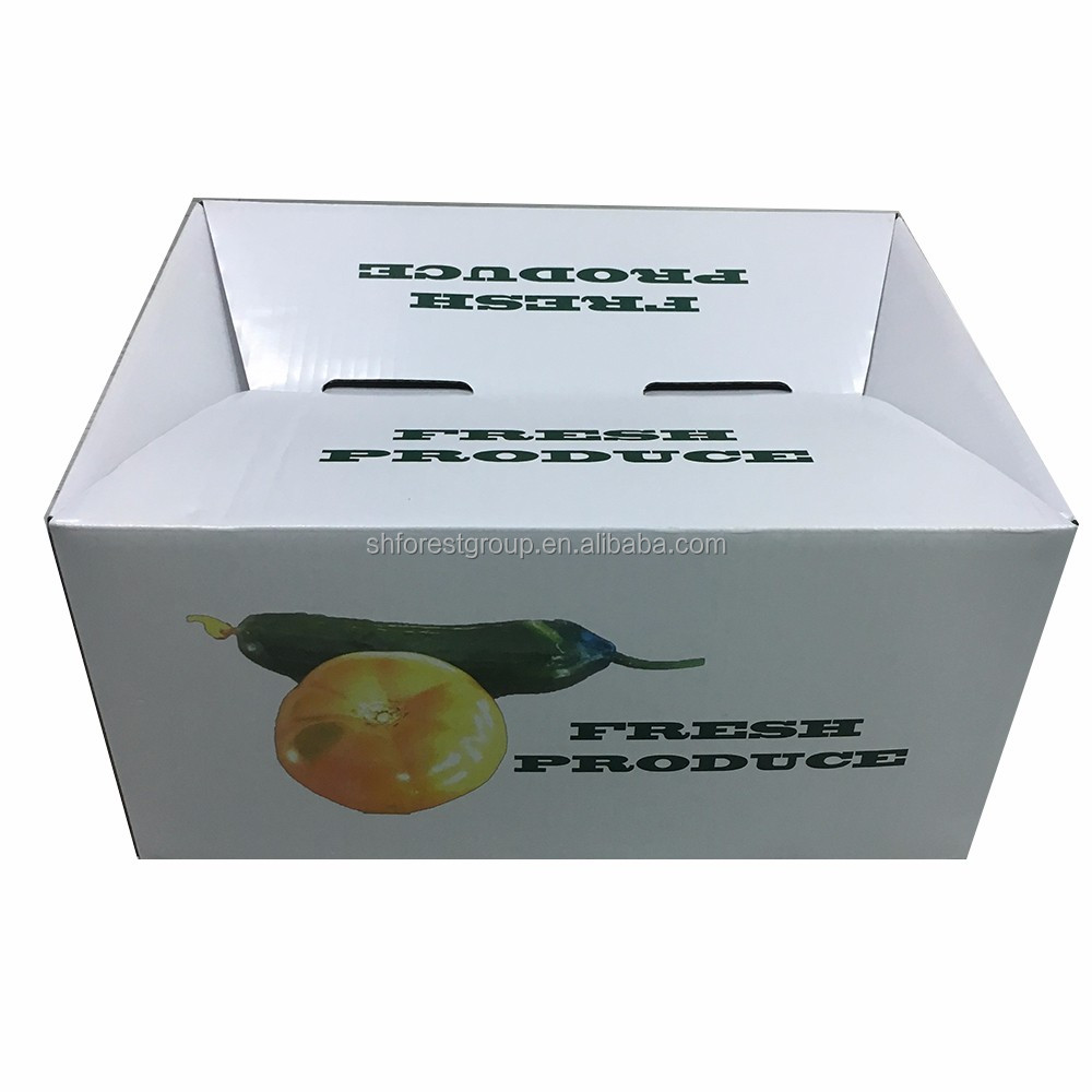 Custom design Shanghai factory corrugated paper packing box for <strong>orange</strong> on sale