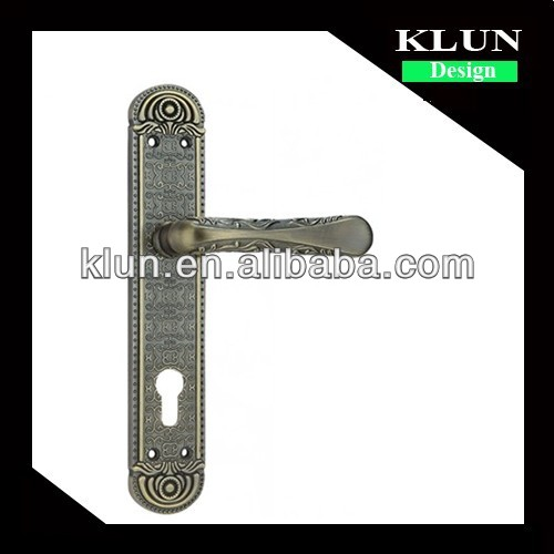 2014 new model lever type wood door handle No.Z9103-Z103