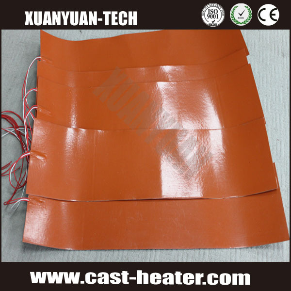 12v silicone rubber heater bed 300mm x 300mm