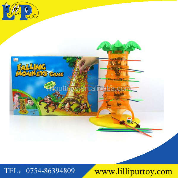 indoor games intellectual game falling monkey game for kids