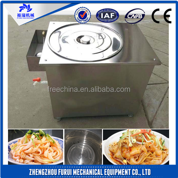 New type steamed rice noodles maker/rice roll steamed machine