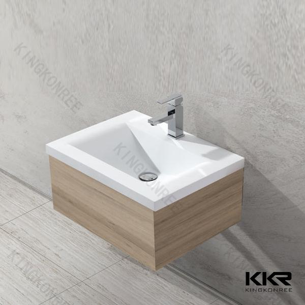 Solid Surface Wash Basins Bathroom Washbasin Cabinet Design - Buy ...