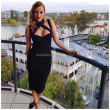 wholesale sexy bodycon dress real pictures of cocktail dress bandage dress 2015 H1408