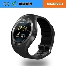 The Lastest 1.2 Inch IPS Touch Screen GSM Phone Smart Watch Y1