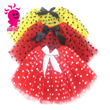 Hot Selling Girls Beautiful Mini Ballet Skirts 3 Layers Gauze Tutu Skirts for Small Girls