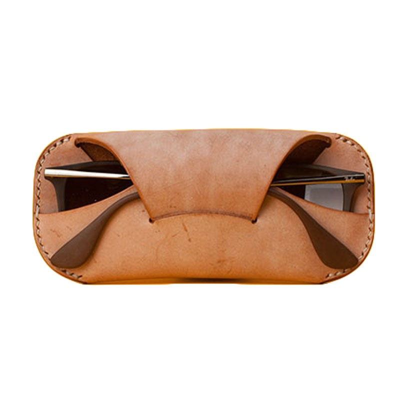 Folding Glasses Bag/Leather Sunglasses Cases/Soft Eyewear Boxes for gift