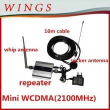 mobile signal device 3g repeater mini size 2100Mhz strong signal mobile phone
