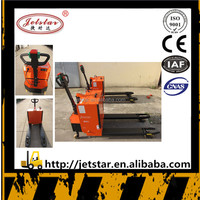 Jetstar custom semi electric pallet truck for sale