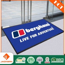 logo printed mat commercial door carpet