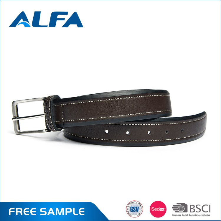 Alfa Hot China Products Wholesale Custom Printed Men Fashion Style Western Metal Belts