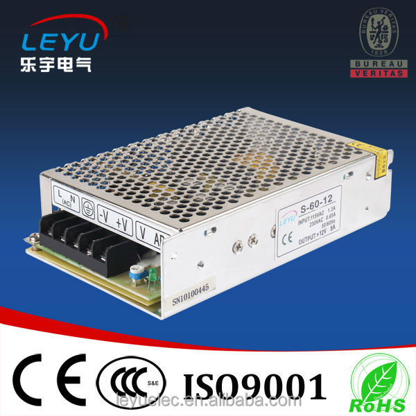 S-60-12 power supply 60W 12V 5A switching power supply