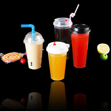 Crystal 750cc 25oz disposable eco friendly drinking cup pp plastic cup