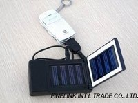 Solar mobile phone charger, solar mobile phone battery charger