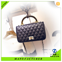 PU leather factory direct pricing for designer handbags chain bags