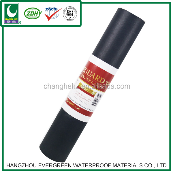 SBS 3mm thick Elastomeric Modified Bitumen Waterproofing Membrane