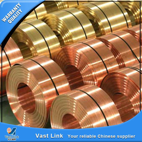 BV certification copper plated strips