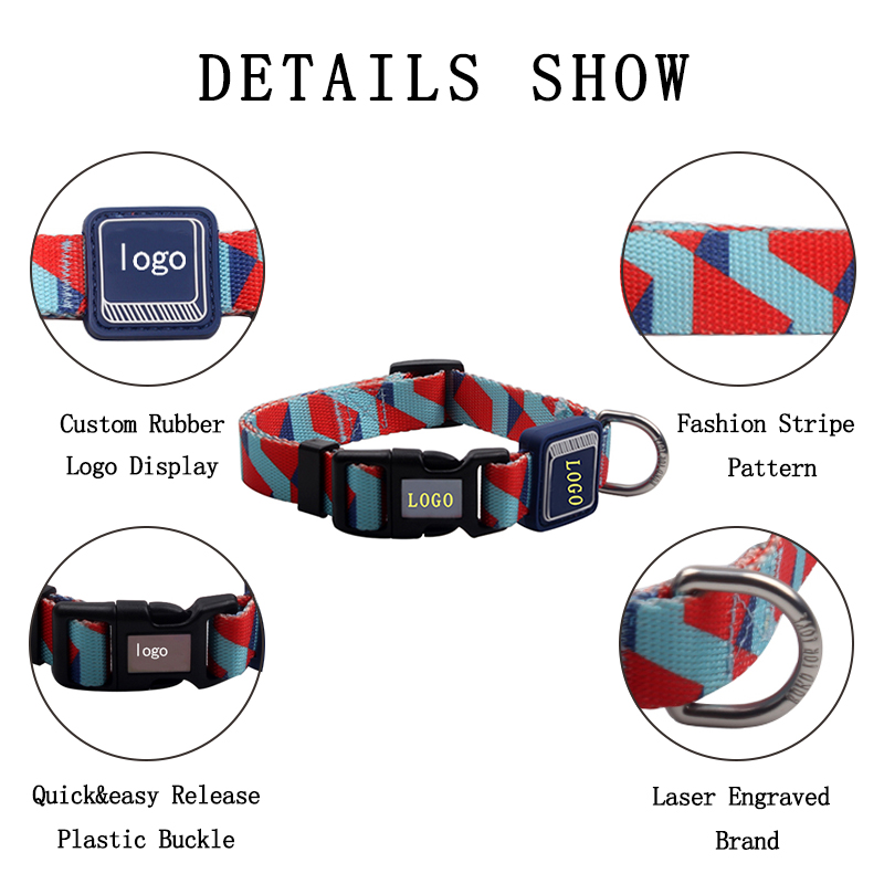Best Selling Free Sample Personalized Outdoor Private Label Dog Collars