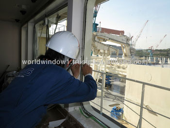 shatterproof glass film apply for Ship in Japan