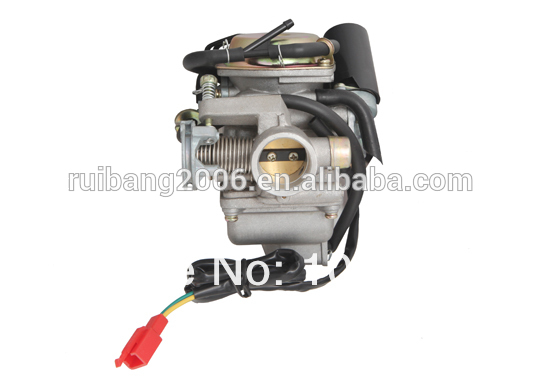 Runtong 24mm PD24 Electric Choke Carby Carburetor for GY6 125cc 150cc Dirt Bike