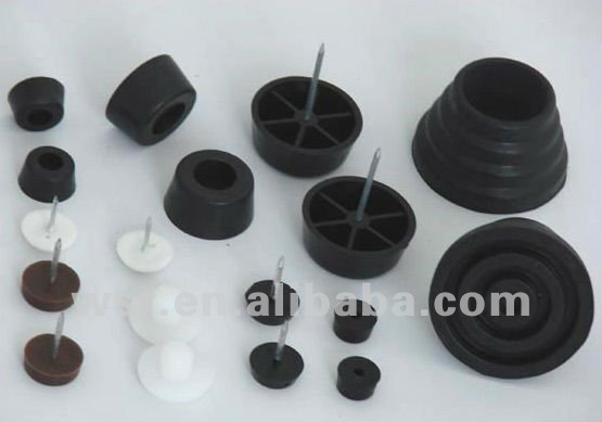 Custom Nono-toxic Metals Bonded rubber products with metal parts