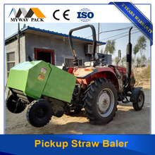Round hay baler pick up baling machine with exported standard