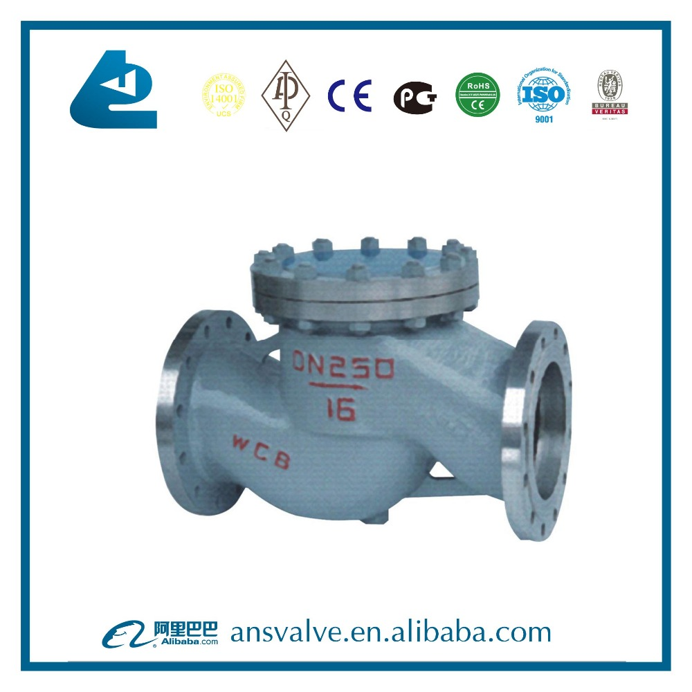 Sewage High performance Casting swing check valve